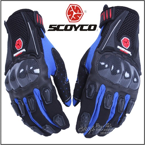 Gang Scoyco MC09 Xanh GangTayXeMay.Vn